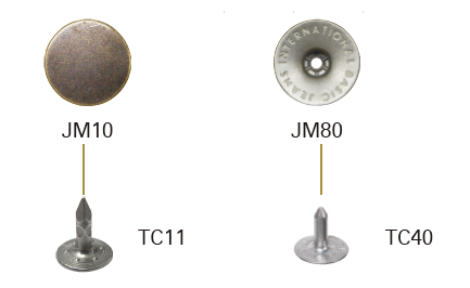 Metal Body Button